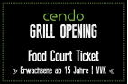 Grill-Opening Ticket (ab 15 Jahre)